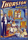 M30 Vintage 1914 Thurston Magic Show Poster A1 A2 A3