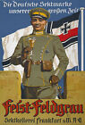 WA57 Vintage WWI German Soldier champagne Advertising Poster WW1 A1 A2 A3