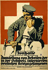 WA55 Vintage WWI German Prisoner Of War Art work Poster WW1 A1 A2 A3