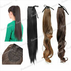 App. 45/50/55cm New Hot Synthetic Fiber Wrap Round Pony Tail Extension Hairpeice
