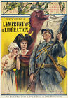 W8 Vintage 1918 WWI French World War 1 Bonds & Loans Poster WW1 Re-Print A4