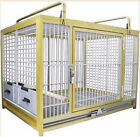 KINGS CAGES GLD ALUM PARROT TRAVEL CAGE ATM 2029 bird SILVER dog cat toy toys