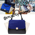 bg3 Celeb Style Vintage Sleek Boxy Flap Over Crocodile Tote Handbag Shoulder Bag