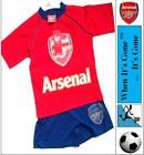 3-12 Years Arsenal FC Gunners Short Pyjamas Set 100% Cotton Multi