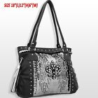 NEW Women's Fleur de lis Purse with Rhinestones Very Beautiful Bag Awesome Gift