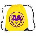 ASKING ALEXANDRIA Classic Circle Band Logo YELLOW GYMSACK TURNBEUTEL TASCHE NEU
