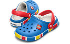 NWT NEW CROCS CROCBAND KIDS LEGO MAMMOTH FUR LINED SHOES CLOGS BLUE OR PINK