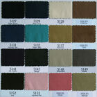 0.5MM ULTRASUEDE MICROFIBER FAUX SUEDE CLOTH PATCH LINING FRINGE NON FRAY BLACK