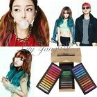 12/36/48 Colors Easy Fast Temporary Hair Coloring Crayon Chalk Pastel Salon Kit