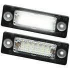 TOP Led Kennzeichenbeleuchtung VW T5 Passat 3C B6 Caddy Touran Jetta Golf Plus