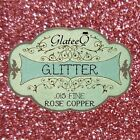 GlateeQ 40g Rose Copper Fine Glitter .015 Craft, Nail Art, Floristry or Fashion