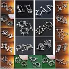 316L Stainless Steel Spike Beads Shield Barbell Nipple Ring Body Piercing Punk