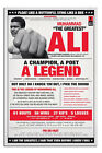Muhammad Ali A Legend Large Wall Poster New - Laminated Available