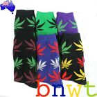 New Plantlife Hightimes Weed Cotton Skate Surf Socks --------- Australian Seller