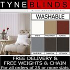 """Made to measure machine washable 5"""" or 3.5"""" Vertical blind SLATS / LOUVRES"""