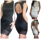 Lace Dress Evening Party Ladies Sexy Bodycon Celeb Cocktail Size 8 10 12 14 16