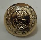 Royal Marines Button, 27L, 38L, 16.5mm, 25mm, Gold, Army, Military, RM, Anodised