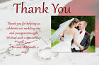 Personalised Wedding Thank You Cards Postcards