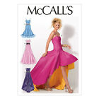 McCall's 6701 Sewing Pattern to MAKE Flared Evening Lined & Boned Dress