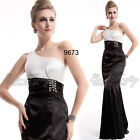 One Shoulder Ladies Halloween Formal Evening Red Carpet Dress 09673 UK Sz 6-18
