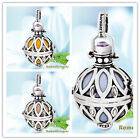 925 sterling silver Mexican Bola Pendants Musical Bali Harmony Ball H68