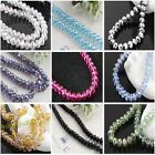 Wholesale Lot 288 Pcs Beauty Stylish Crystal Faceted Rondelle Loose Beads 8MM