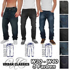 URBAN CLASSICS JEANS COLLECTION STRAIGHT - LOOSE - BAGGY FIT HOSE CHINO W30-W40