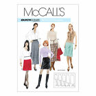 McCall's 3341 OOP Sewing Pattern to MAKE Misses Quick and Easy A-Line Skirts