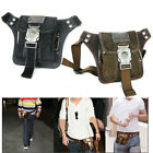 NEW Vintage Men'sBelt Waist Bags Canvas Bumbag Satchel Fanny Pack RUNNING BAG