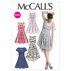McCall's 6504 OOP Sewing Pattern to MAKE Easy Semi-Fitted & Flared Dress