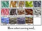 4mm Cube Czech Glass Beads 50 Choose Color