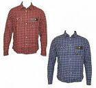 BNWT Mens Duck And Cover Hunter Long-Sleeved Shirt, Rust & Twilight