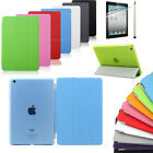 Magnetic Smart Cover+Hard Back Case fo rNEW Apple iPad mini Free Stylus UK stock