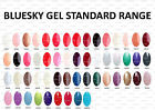 BLUESKY, NAIL POLISH, UV/LED GEL. Colours 01-25 / CND Shellac Remover Wrap