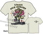 1/145th Field Artillery Rat Fink T Shirt Ed Big Daddy Apparel Sz M L XL 2XL 3XL