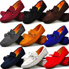 13 Color US Size 5-11 NEW Suede Leather Lined Mens Driving Moccasin Loafer Shoes