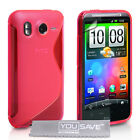 Accessories For The HTC Desire HD Stylish Silicone Gel Case Cover Skin & Film