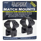 """Hawke Weaver Base Rifle Scope Mounts - Choose 30mm or 1"""" and Height"""
