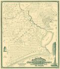 Old County Maps - JEFFERSON COUNTY TEXAS (TX) LANDOWNER MAP 1901