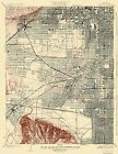 Topographical Map Print - Hollywood California Quad - USGS 1926 - 23 x 29.75