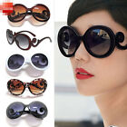 Hot Retro-inspired Women Butterfly Clouds Arms Semi Transparent Round Sunglasses