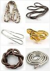 FREE SHIP 1pcs Mixed Bendy Flexible Snake Chains Necklace/Bracelet 90cm