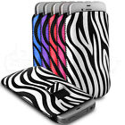 Zebra Print Pull Tab Pouch Case Sleeve Skin For The HTC Wildfire S Mobile Phone