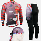 FIXGEAR CS-1601-SET Men's Cycling Jersey & Padded Pants Kit Road bike MTB wear