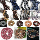 6MM Various Round Loose Beads Gemstone Jewellery DIY Craft Agate Picasso Jasper