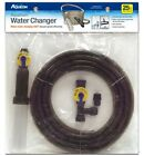 AQUEON WATER CHANGER GRAVEL CLEANER. 25FT OR 50FT. EXTENSION & FAUCET ADAPTERS