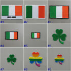 Ireland Flag Iron On / Sew On Cloth Patch Badge Irish Éire bratach na hÉireann