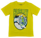 Hurley Big Boys S/S Yellow Monster Surfer Top Size 8 10/12 14/16 18/20