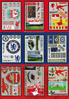 64 Self-Adhesive & Removeable Football Wall Stickers Liverpool, Chelsea, Arsenal