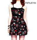 HELL BUNNY Goth MINI DRESS Spiderwebs KIRSTY Halloween All Sizes